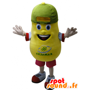 Yellow potato mascot, giant. Potato Mascot - MASFR032158 - Food mascot