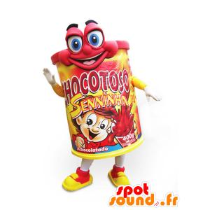 Chocotoso mascota, bebida de chocolate - MASFR032180 - Mascota de alimentos