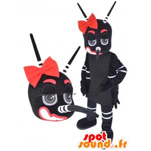Gigante de la mascota de mosquitos, negro, blanco y rojo - MASFR032232 - Insecto de mascotas