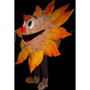 Giant zon mascotte, vrolijk - MASFR032243 - Niet-ingedeelde Mascottes