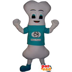 Mascot giant white bones, very original - MASFR032252 - Mascots unclassified