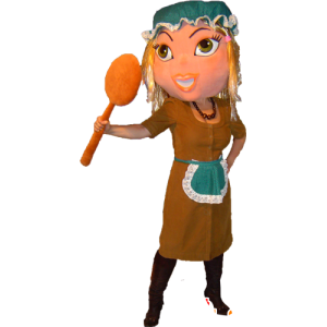 Maid mascot, maid, Cinderella