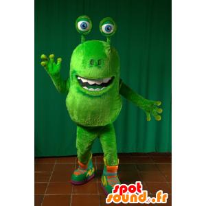 Mascot grønn fremmed, grønn skapning - MASFR032279 - utdødde dyr Maskoter
