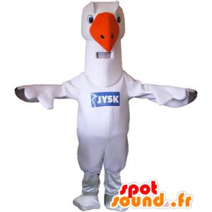 Mascotte de mouette, de goéland, d'albatros