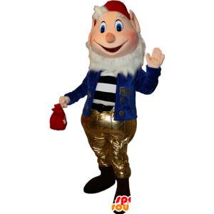Maskot skjeggete dverg. Prof. Mascot - MASFR032348 - jule~~POS TRUNC