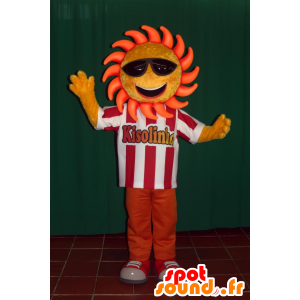 Mascot sol con gafas de sol - MASFR032438 - Mascotas sin clasificar