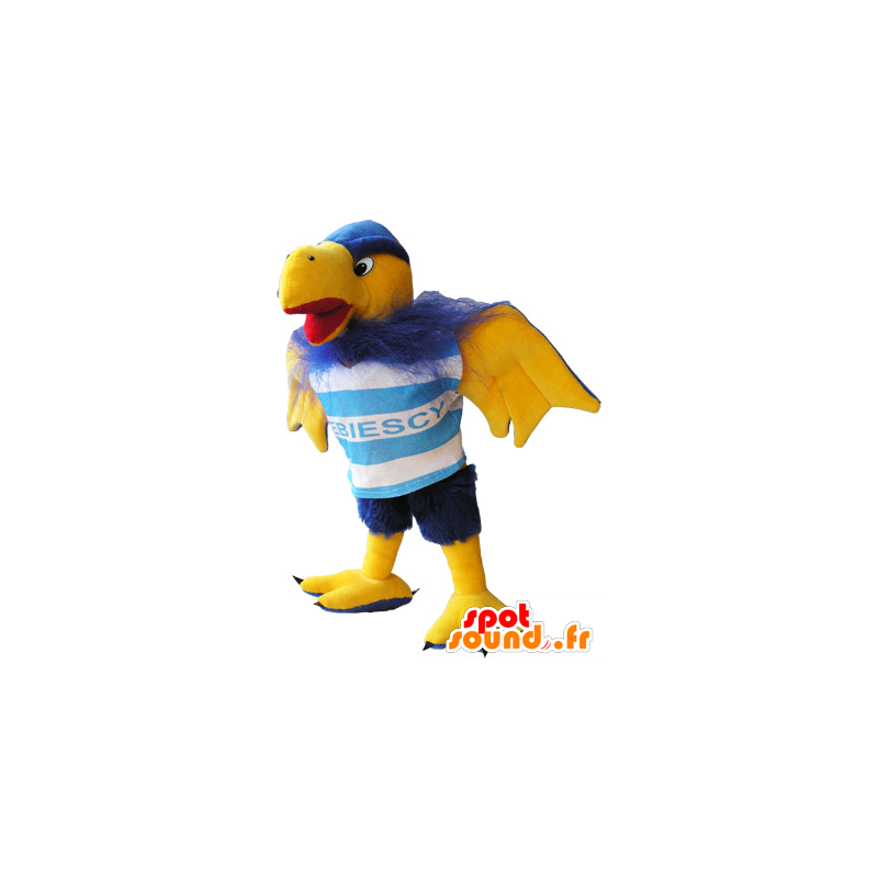 Τριχωτό μεγάλο πουλί