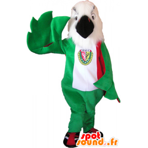 Mascot White and Red Eagle - MASFR032601 - Mascot of birds