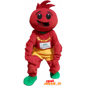 κοστούμι ντομάτα. Ντομάτα σάλτσα - MASFR032613 - φρούτων μασκότ