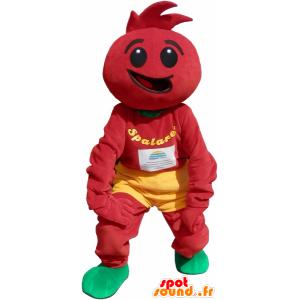 Costume de tomate. Déguisement de tomate - MASFR032613 - Mascotte de fruits