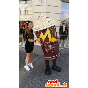 Gigante Mascot pote de gelo - MASFR032628 - Rápido Mascotes Food