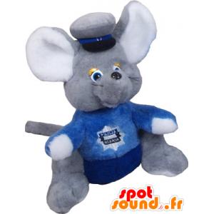 Μικρή ποντίκι βελούδινα μασκότ του ποντικιού - MASFR032631 - ποντίκι μασκότ