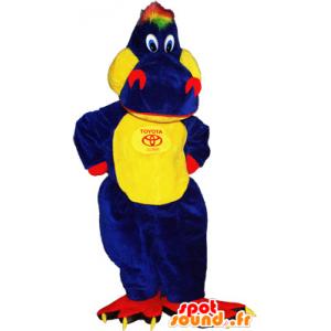 Coccodrillo mascotte gigante colorato e divertente