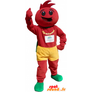 Rajče kostým. rajče Maskot - MASFR032668 - fruit Maskot