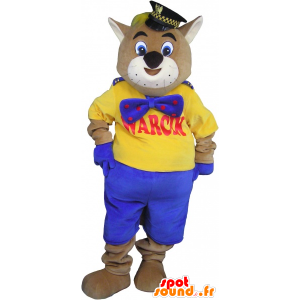 Giant cat mascot cat mascot - MASFR032699 - Cat mascots
