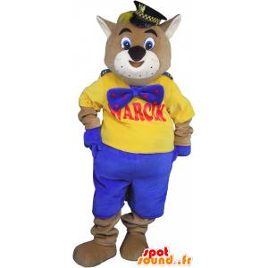 Mascotte de chat géant, mascotte de matou - MASFR032699 - Mascottes de chat