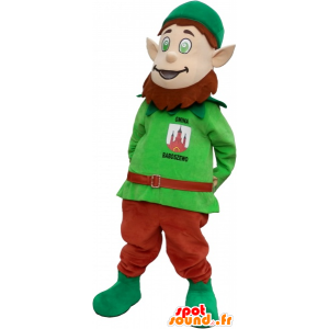 Kabouter mascotte met spitse oren - MASFR032702 - Kerstmis Mascottes