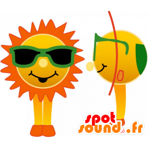 sol de la mascota con los vidrios verdes - MASFR032740 - Mascotas sin clasificar