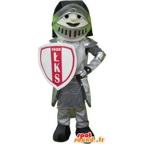 Knight Mascot armor with helmet and shield - MASFR032796 - Mascots of Knights