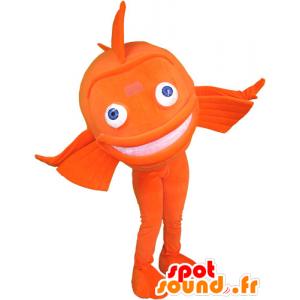 Orange giant fish mascot - MASFR032838 - Mascots fish