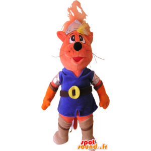 Cat Maskot barevné oblečení - MASFR032841 - Cat Maskoti