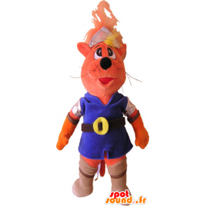 Cat Mascot colorful outfit - MASFR032841 - Cat mascots