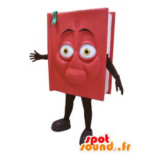 Mascot rote und schwarze Riese Buch. Buch-Kostüm - MASFR032875 - Maskottchen von Objekten