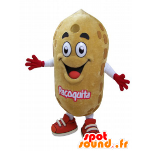 Mascot zeer realistisch reus pinda - MASFR032941 - Fast Food Mascottes