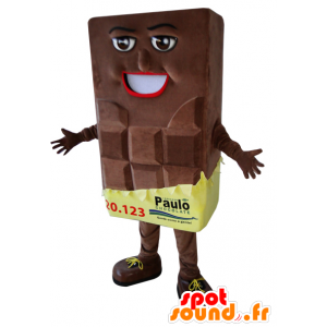 Mascot giant chocolate bar - MASFR032950 - Food mascot