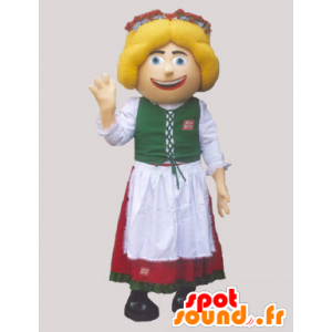 Mascot Dutch, Austrian and in traditional costume - MASFR032989 - Dog mascots