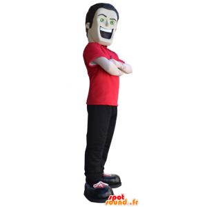 Mascot großer Mann mit einer schönen Körperstruktur - MASFR032998 - Menschliche Maskottchen
