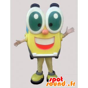 Plac wesołych zabawne maskotki z dużymi oczami - MASFR033014 - Mężczyzna Maskotki
