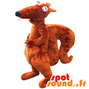 Mascot brun giganten ekorn med en stor kuk - MASFR033090 - Maskoter Squirrel