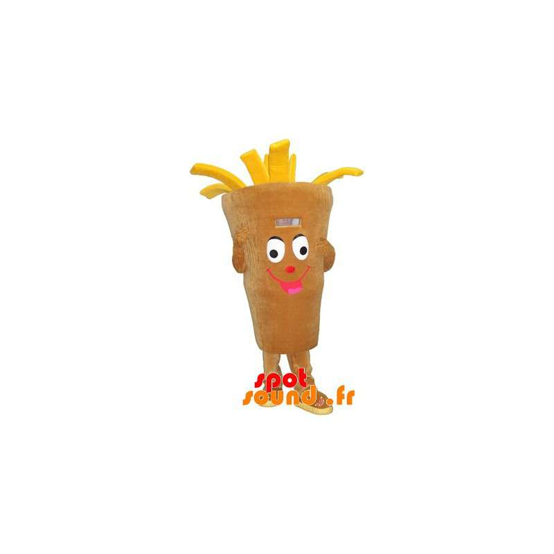 French Fries Mascot. Mascot Snack, Chip Shop
