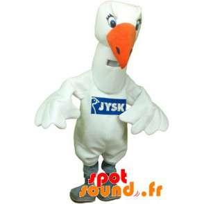 Mascot Gull, Swan, Giant White Bird