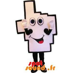 Käsi Mascot valkoinen ja...