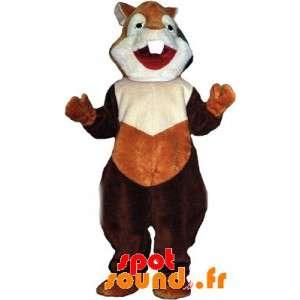 Mascotte hamster, eekhoorn,...