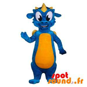 Blue And Yellow Dragon...
