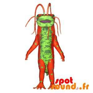 Monster Mascot, zielony i...