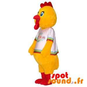 Gigante mascotte di pollo....