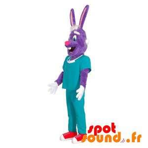 Violetti kani maskotti...