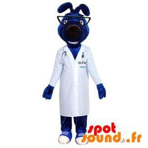Azul mascota del perro con...