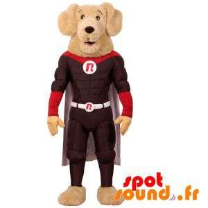 Dog Mascot Dressed Very...