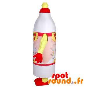 Flaske lim maskot av...