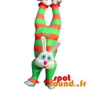Mascota inflable de color...
