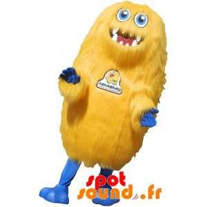 Yellow Monster Mascot All...