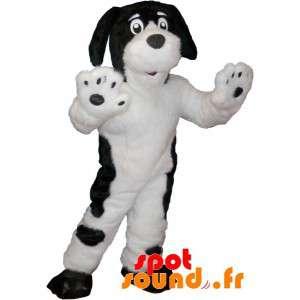 Nero cane mascotte morbido...