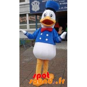 Mascota del pato Donald, pato famosa de Disney