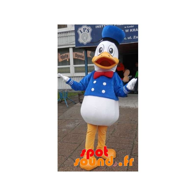 Mascotte de Donald Duck, célèbre canard de Disney