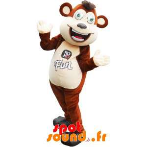 Mascot Large Brown And...